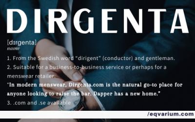 Name of the Week: Dirgenta