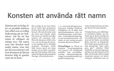 Artikel i Cad&Ritnytt 2008-05-30