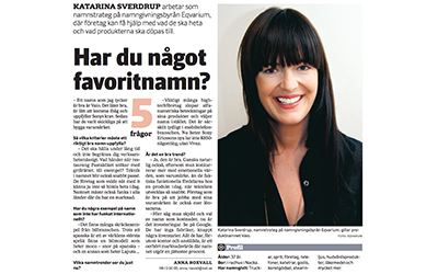 Artikel i Svenska Dagbladet 2010-04-30