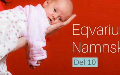 Eqvariums namnskola del 10