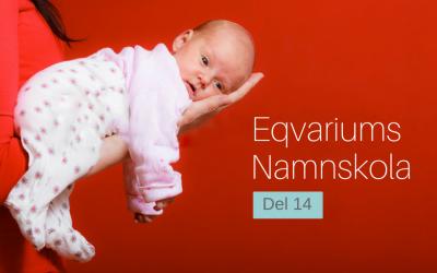 Eqvariums namnskola: Del 14