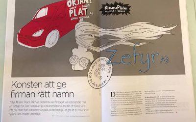 Eqvarium i print – namngivningstips till hantverkarbranschen
