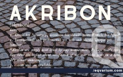 Name of the Week: Akribon