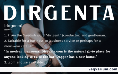 Name of the Week: Dirgenta